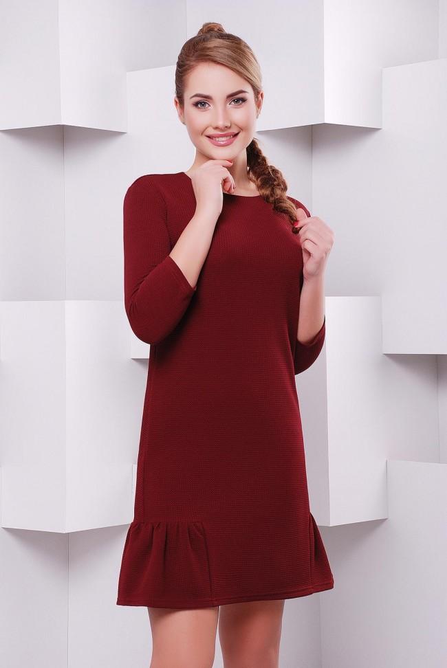 """Платье """"Рюша"""" PL-1395D"""