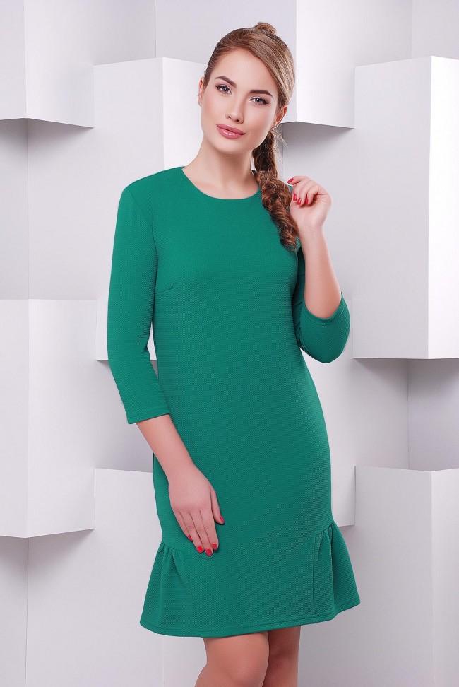 """Платье """"Рюша"""" PL-1395F"""