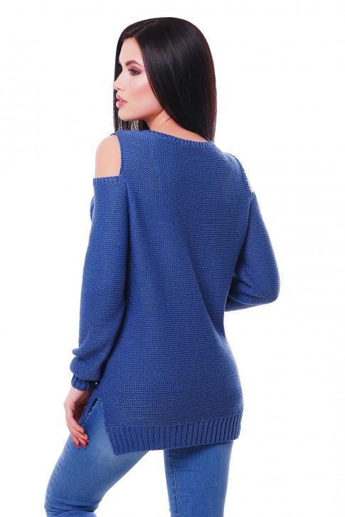 """Удобный женский свитер под джинсы """"LALA"""" SVL0003 (фото 2)"""