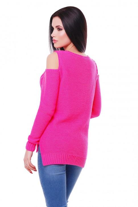 Ярко розовый свитер от производителя (фото 2)