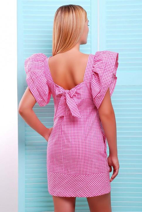 Короткое платье  с открытой спиной - PL-1347C