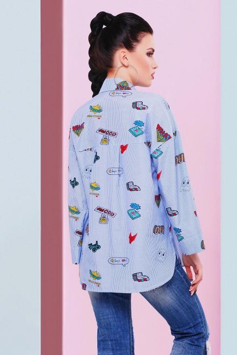 """Рубашка """"Cool"""" RB-1466A (фото 2)"""
