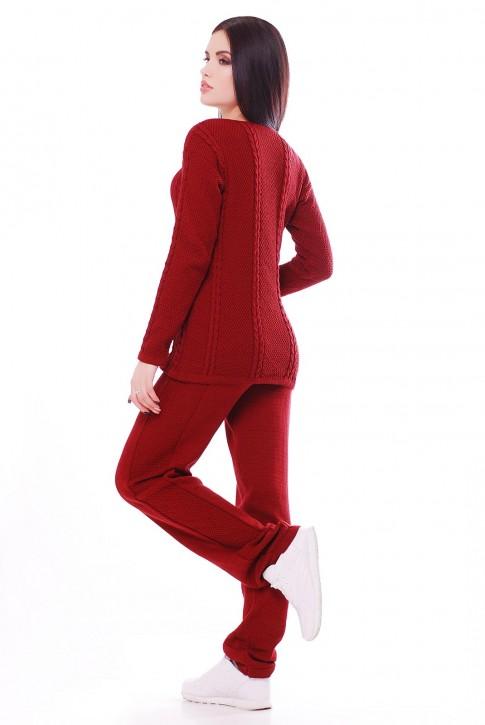 """Вязаный костюм """"MERY"""" SKM0006 (фото 2)"""