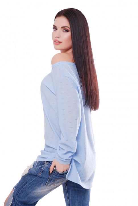 "Нежно-голубой свитер ""NELY"" SVN0001 (фото 2)"