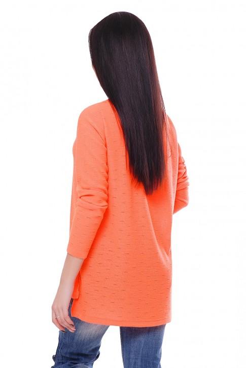 "Свитер цвет оранжевый неон ""NELY"" SVN0007 (фото 2)"