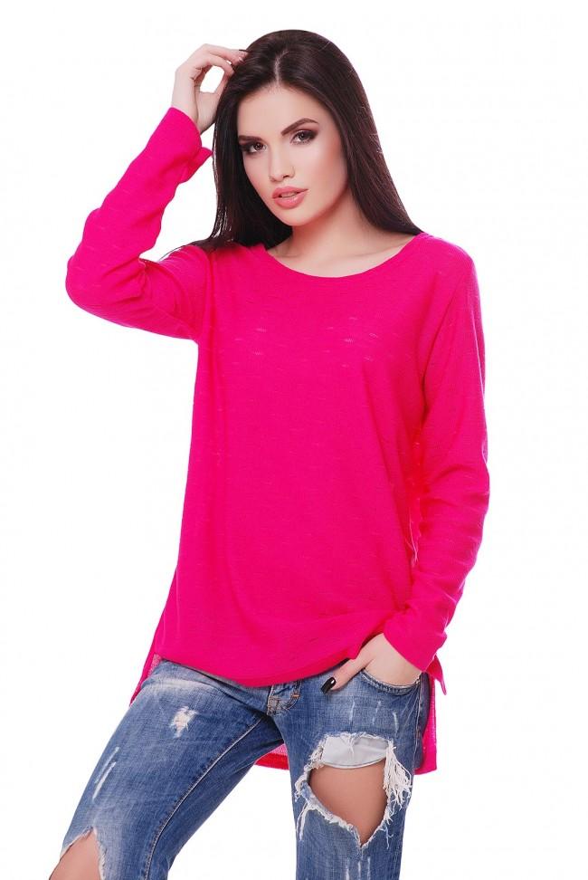 "Малиновый свитер ""NELY"" SVN0009"