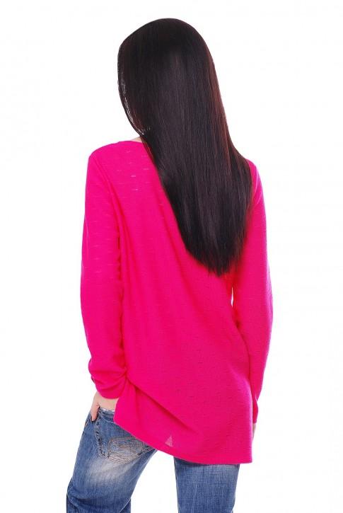 "Малиновый свитер ""NELY"" SVN0009 (фото 2)"