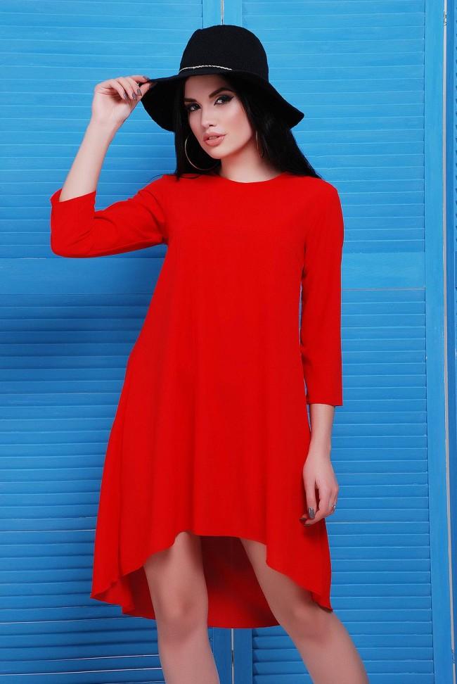 """Повседневные платье со шлейфом  - """"Viva"""" PL-1451A"""