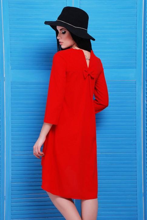 """Повседневные платье со шлейфом  - """"Viva"""" PL-1451A (фото 2)"""