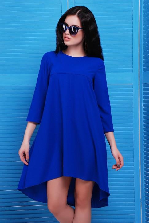 """Платье из легкой ткани со шлейфом - """"Viva"""" PL-1451B"""