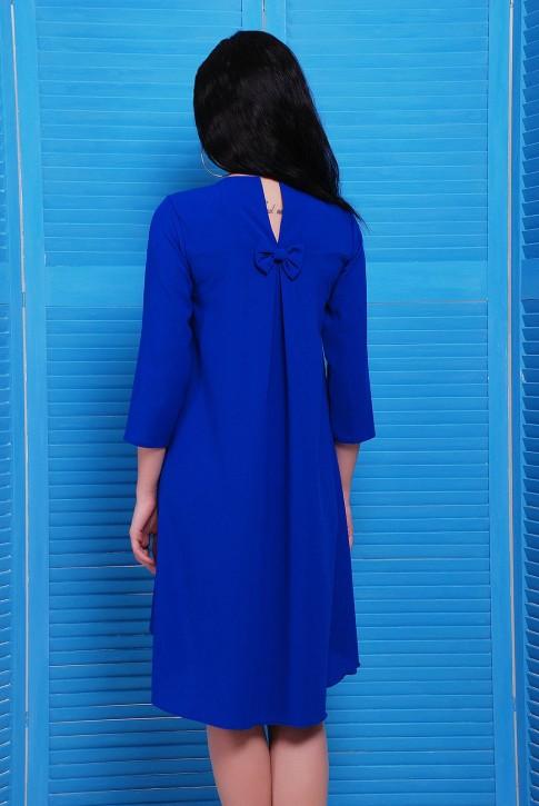 """Платье из легкой ткани со шлейфом - """"Viva"""" PL-1451B (фото 2)"""