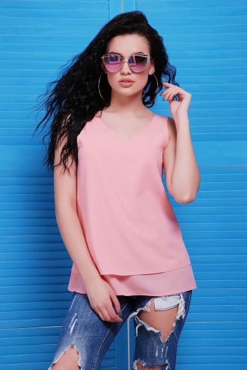 Блуза розовая BZ-1489D | Распродажа