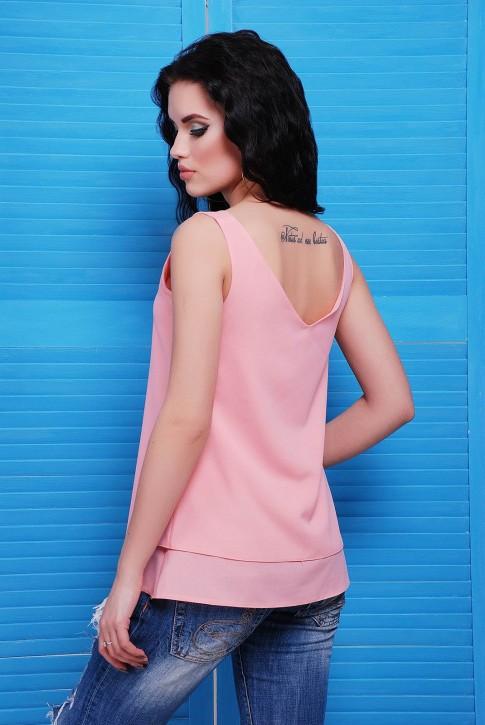 Блуза розовая BZ-1489D | Распродажа (фото 2)