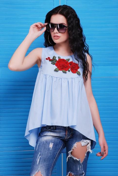 """Блуза """"Flower"""" BZ-1484B"""