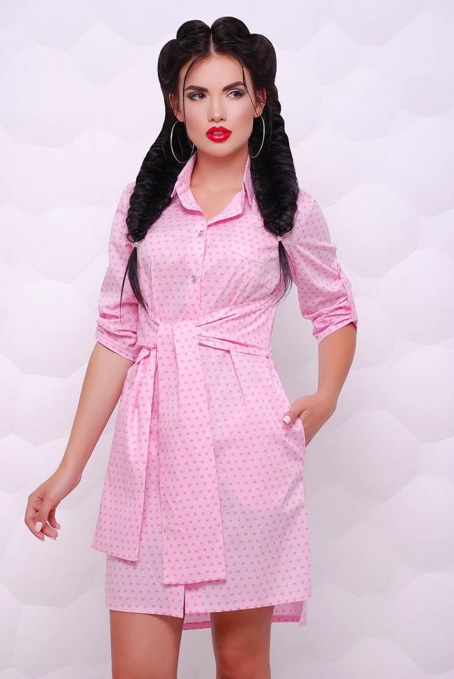 "Платье-рубашка ""Honey"" PL-1511B"