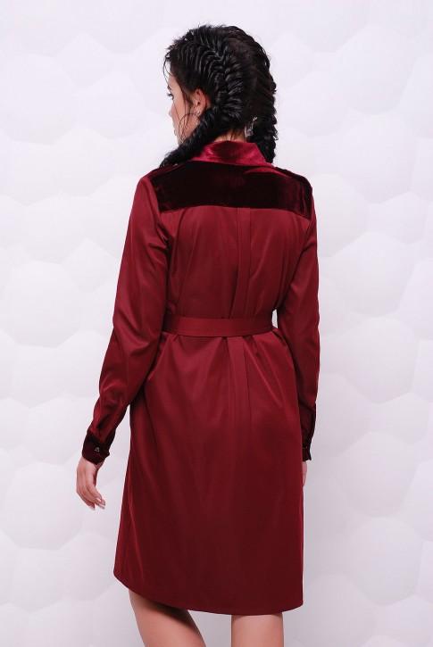 """Платье-рубашка """"Prestige"""" PL-1524B (фото 2)"""