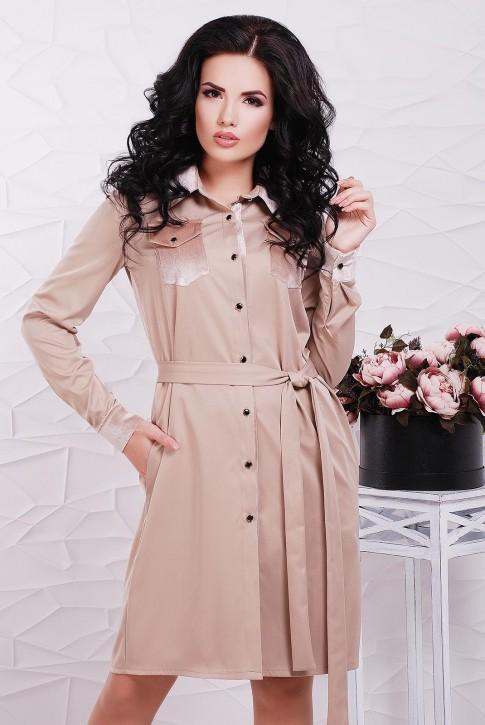 """Платье-рубашка """"Prestige"""" PL-1524C"""