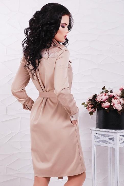 """Платье-рубашка """"Prestige"""" PL-1524C (фото 2)"""