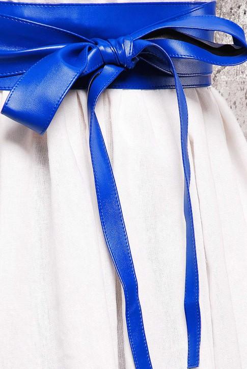 Пояс синего цвета из экокожи - PS-1312C (фото 2)