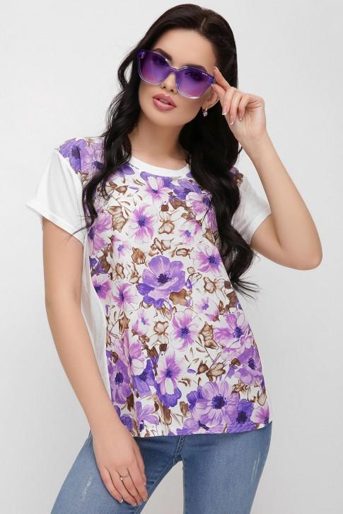 "Цветочная футболка - ""Air"" FB-1614A"
