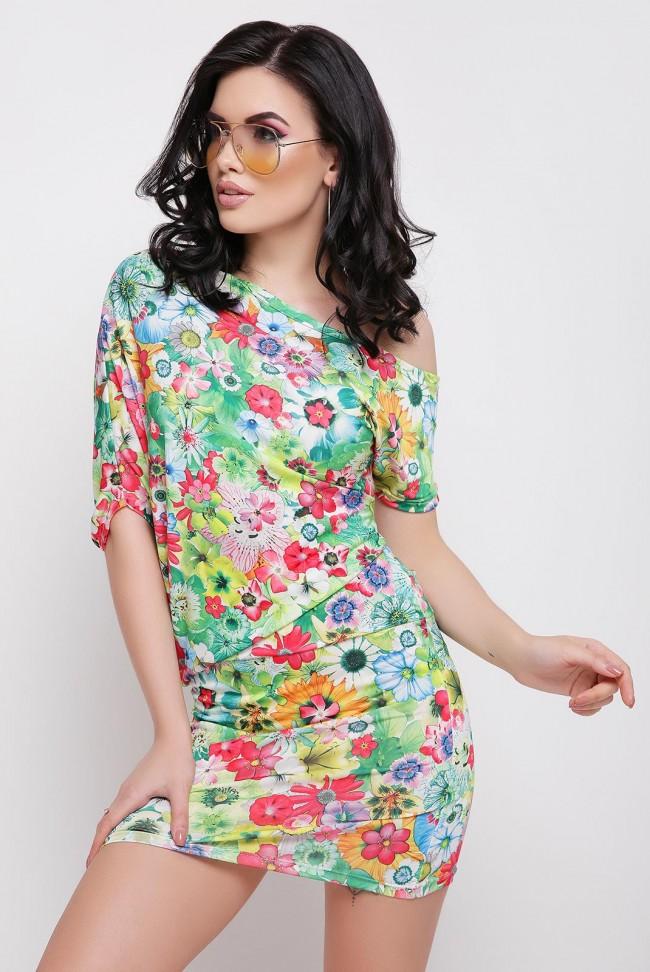 """Облегающее платье """"Jolie"""" с цветочным принтом"""