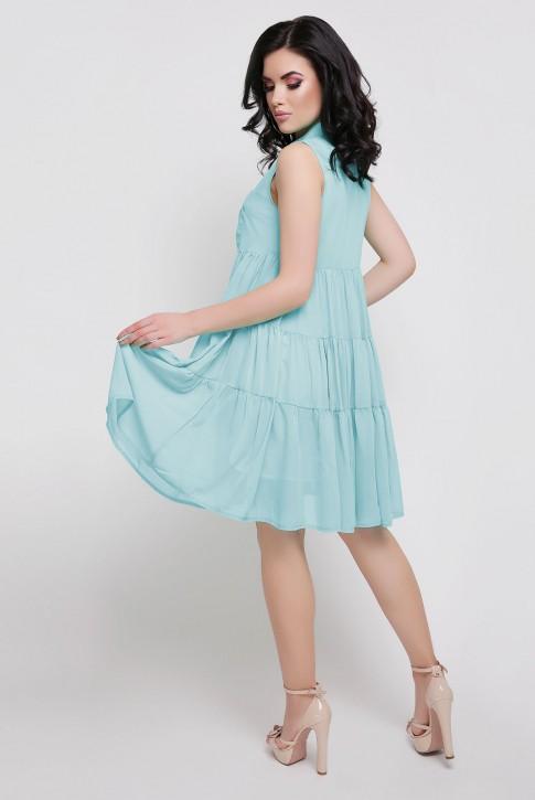 """Летнее платье """"Princess"""" нежно голубого цвета (фото 2)"""