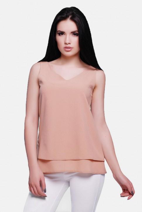 Блуза бежевая BZ-1489A | Распродажа
