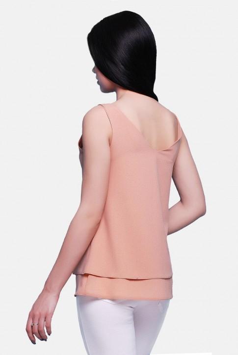 Блуза бежевая BZ-1489A | Распродажа (фото 2)