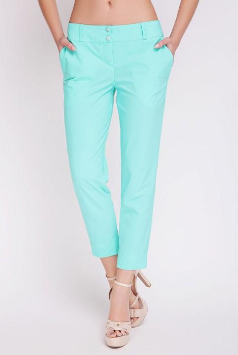 Мятные летнии брюки. BRK-012C