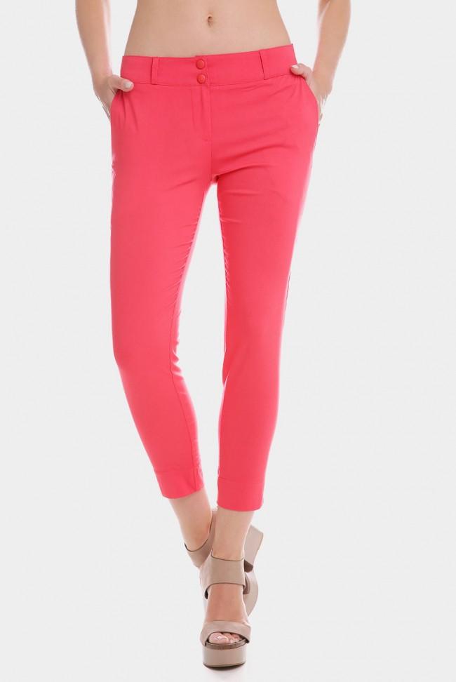 Коралловые летние брюки. BRK-012D