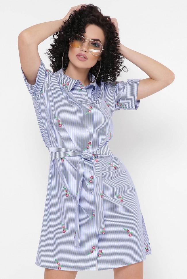 """Платье-рубашка """"Sophie"""" PL-1767F"""