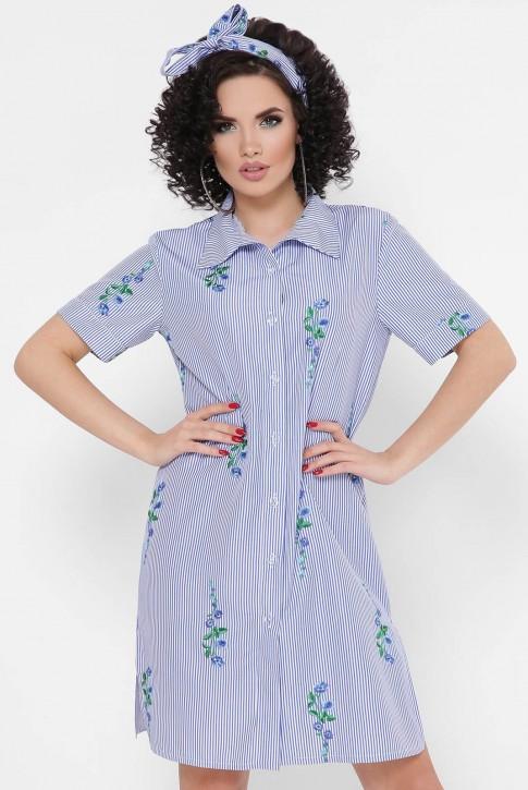 """Платье-рубашка """"Sophie"""" PL-1767D (фото 2)"""