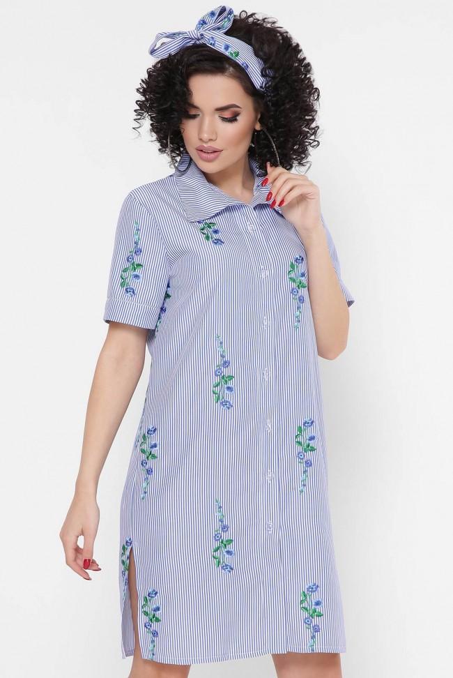 """Платье-рубашка """"Sophie"""" PL-1767D"""