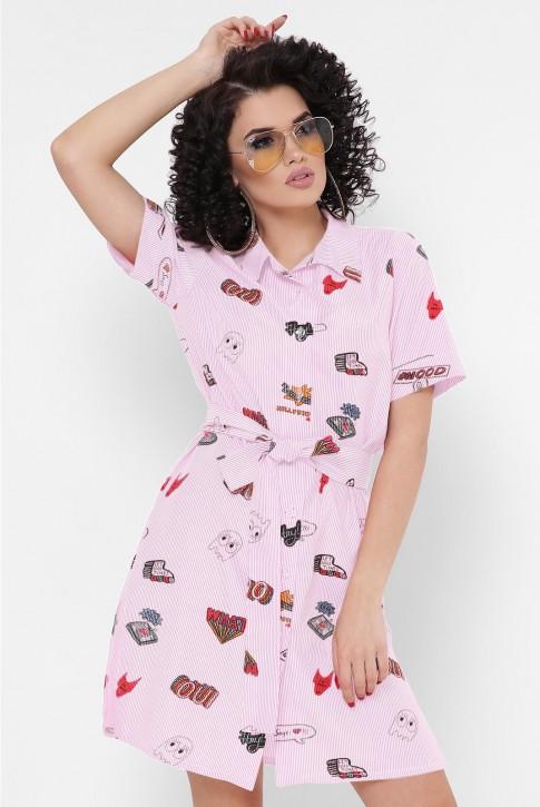 """Платье-рубашка """"Sophie"""" PL-1767J"""