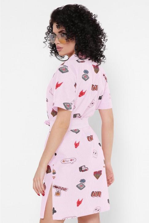 """Платье-рубашка """"Sophie"""" PL-1767J (фото 2)"""