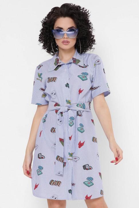 """Платье-рубашка """"Sophie"""" PL-1767I"""