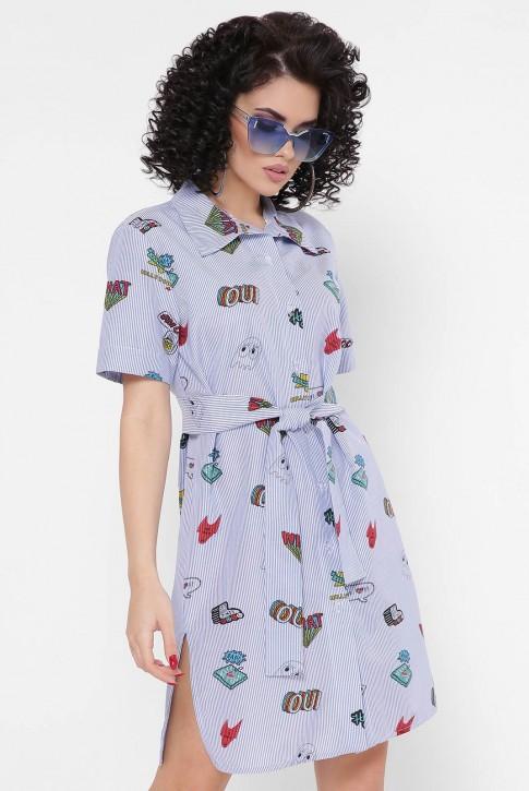 """Платье-рубашка """"Sophie"""" PL-1767I (фото 2)"""