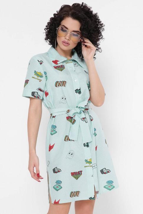 """Платье-рубашка """"Sophie"""" PL-1767H"""