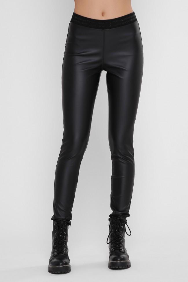 Лосины Leather Belt LSN-334A